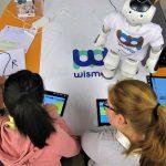Onderwijsrobot NAO in de klas