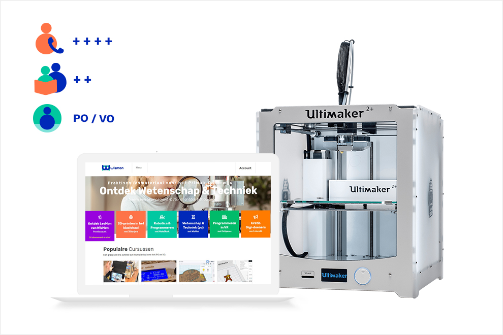 3D-Discovery Basic (met Ultimaker 2+)
