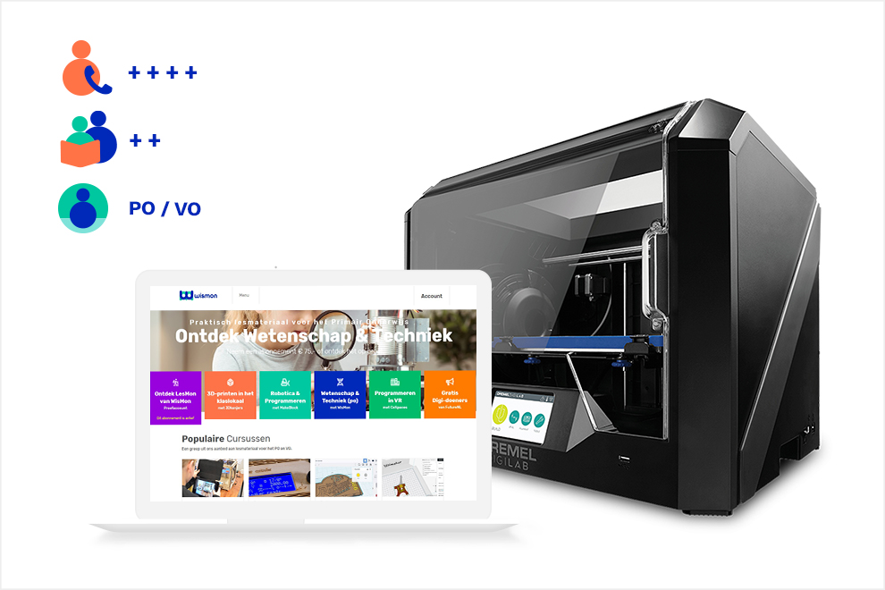 3D-Discovery Basic (met Dremel 3D45)