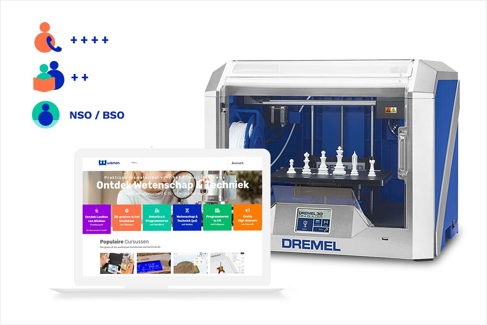 3D printen Discovery Easy (met Dremel 3D40)