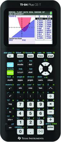 Grafische Rekenmachine TI-84 plus CE-T