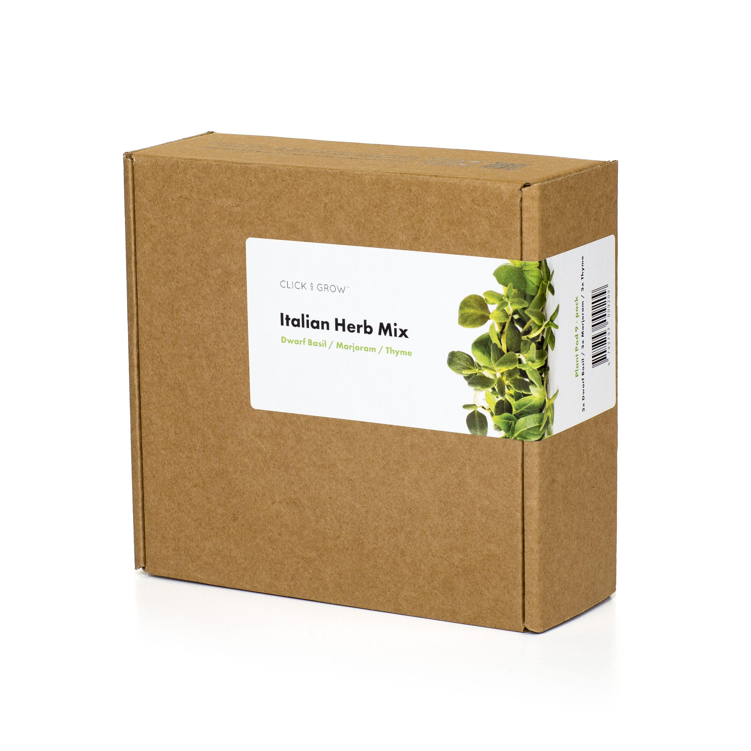 Click & Grow Italiaanse Kruiden Mix 9-pack