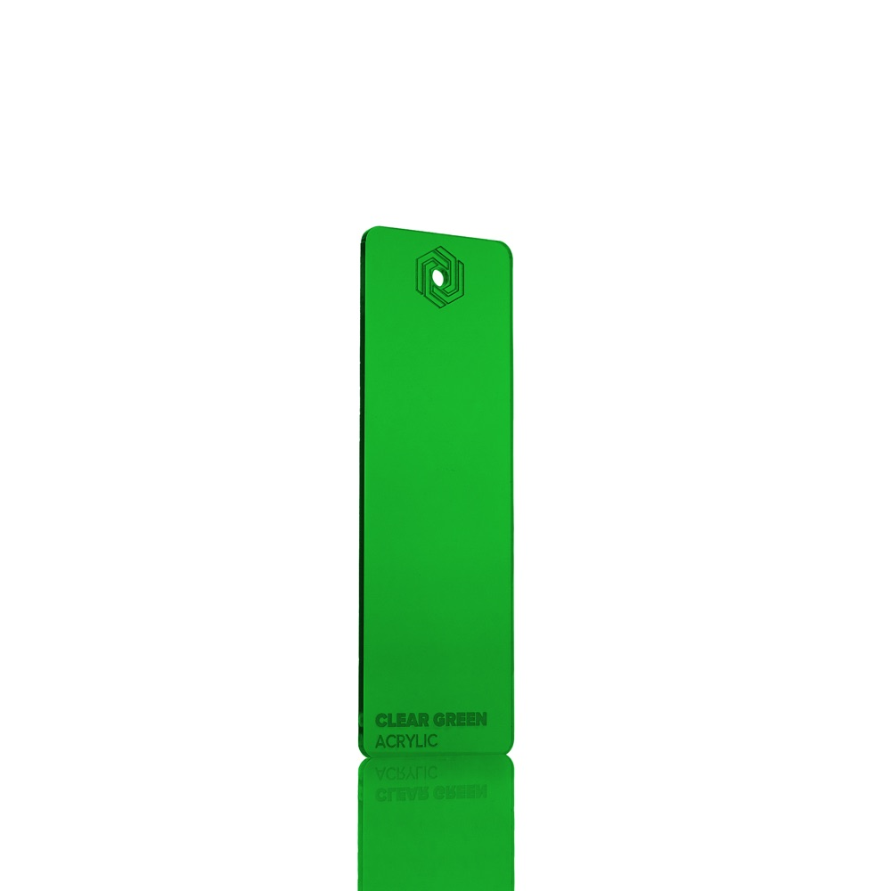 FLUX Acrylic Clear Green 3 mm
