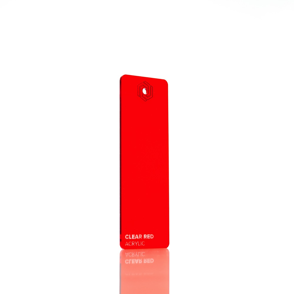 FLUX Acrylic Clear Red 3 mm