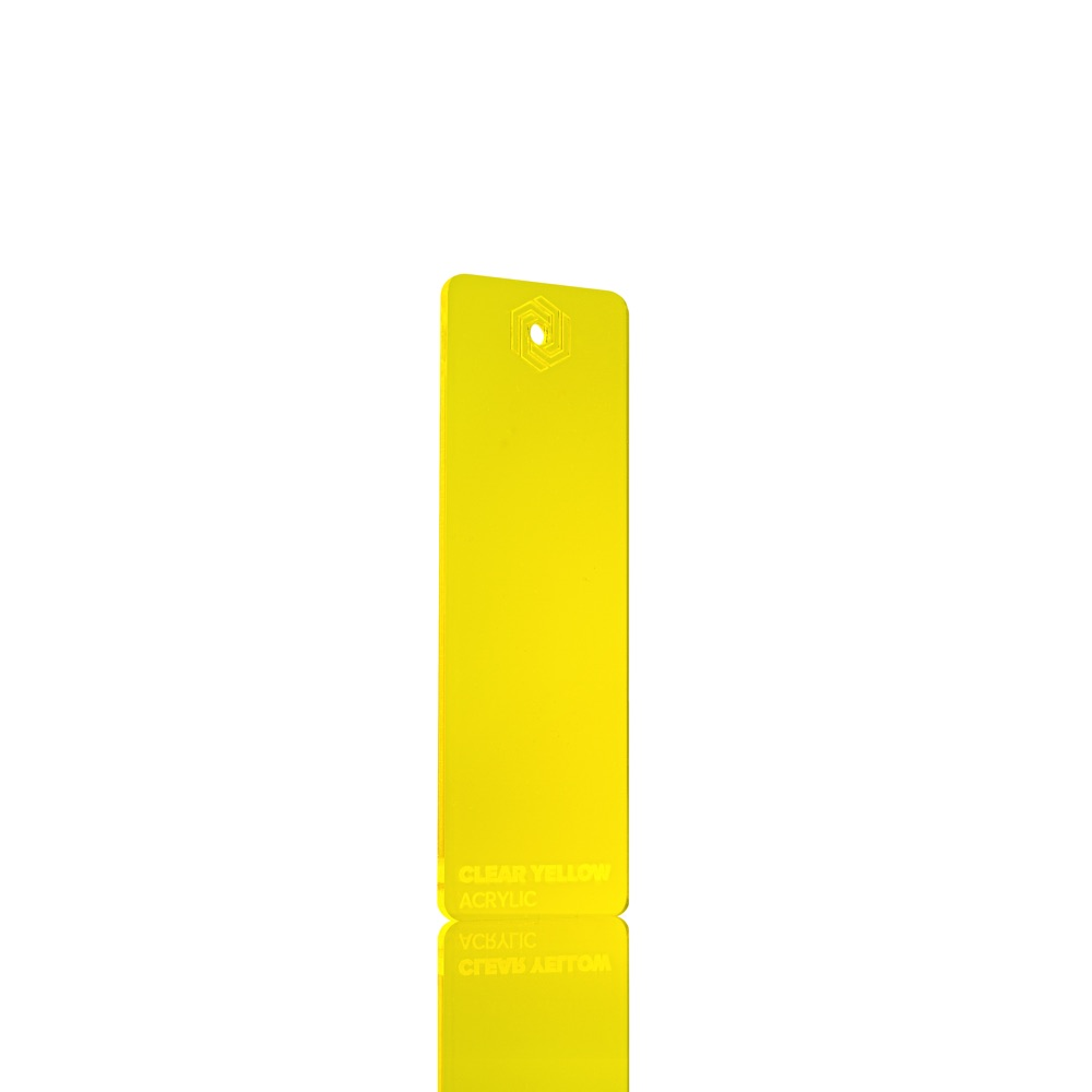 FLUX Acrylic Clear Yellow 3 mm