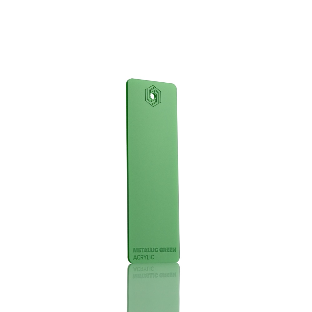 FLUX Acrylic Metallic Green 3 mm