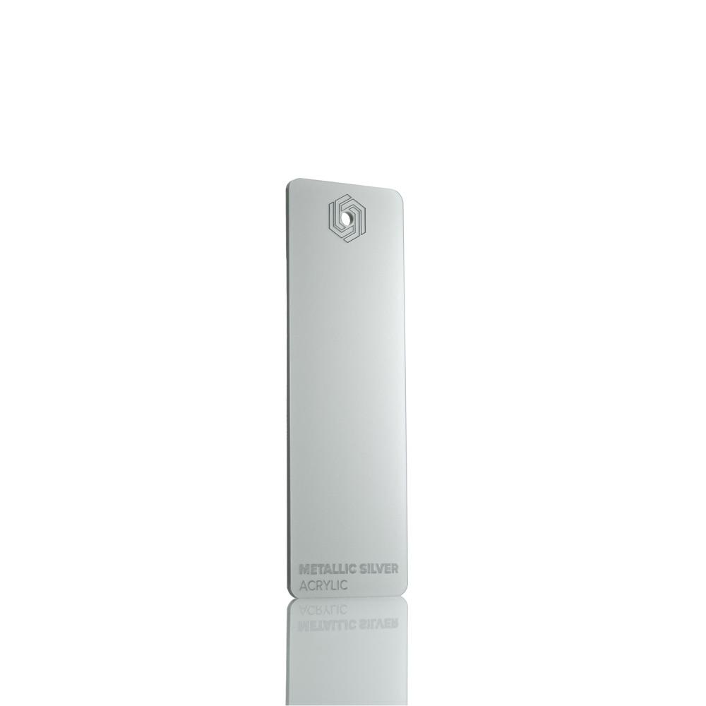 FLUX Acrylic Metallic Silver 3 mm