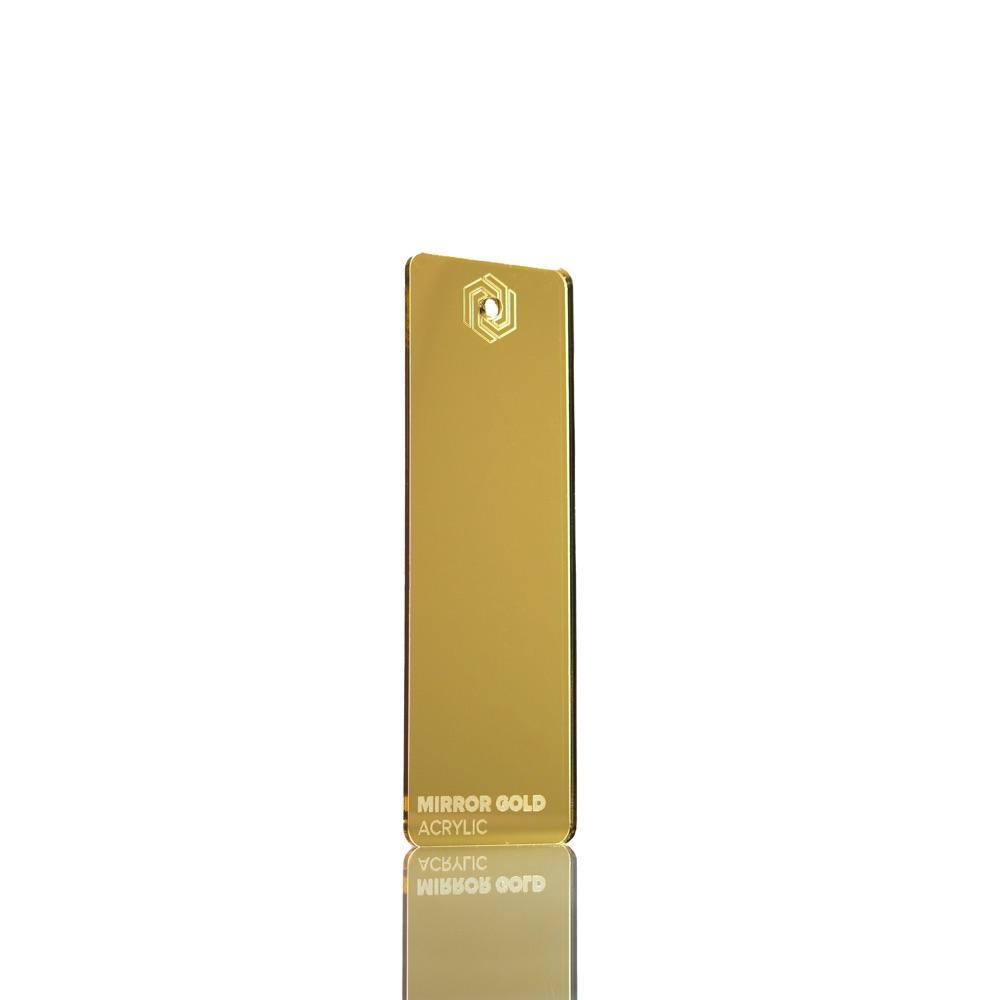 FLUX Acrylic Mirror Gold 3 mm
